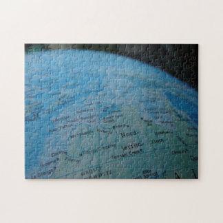globe puzzel puzzle