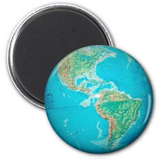 Globe Refrigerator Magnet
