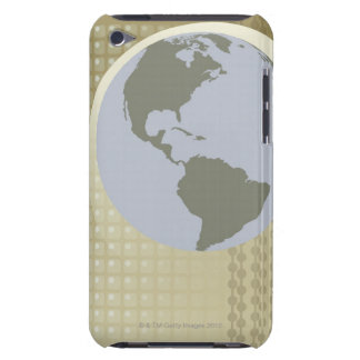 Globe Showing Americas iPod Touch Case