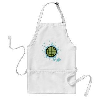 Globe Splotch. Apron