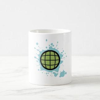 Globe Splotch. Coffee Mug