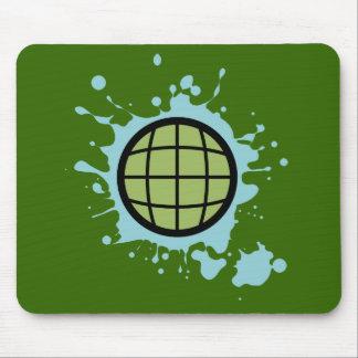 Globe Splotch. Mouse Mat