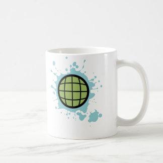 Globe Splotch. Mugs
