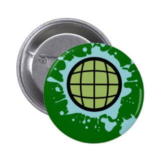 Globe Splotch. Pins