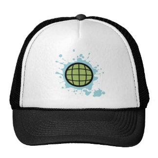 Globe Splotch. Trucker Hat