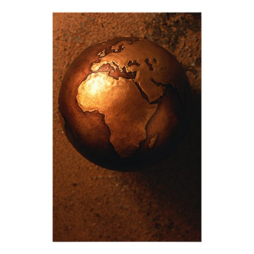Globe Custom Stationery