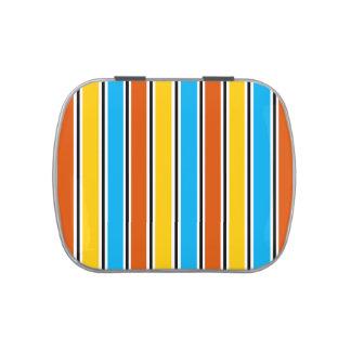 Globe Stripe Classic candy tin