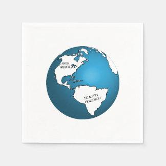 Globe Paper Napkins