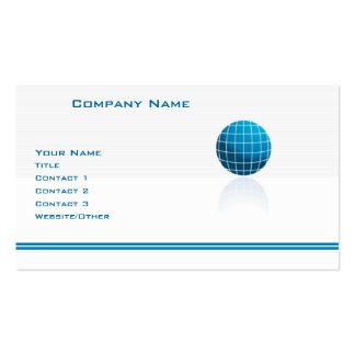 Globe Tech Business Card Template