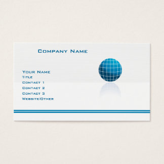 Globe Tech Business Card