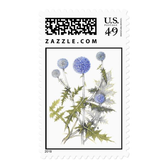 Globe Thistle Collection Postage