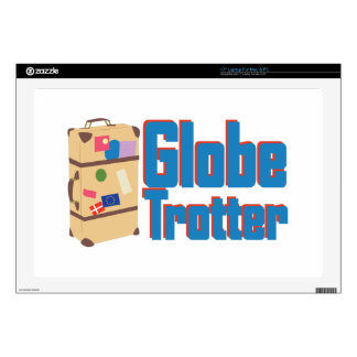 "Globe Trotter 17"" Laptop Skin"