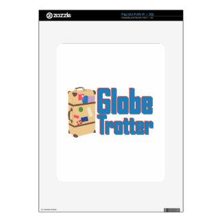 Globe Trotter iPad Skin