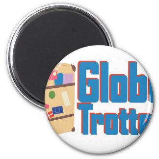 Globe Trotter Magnet