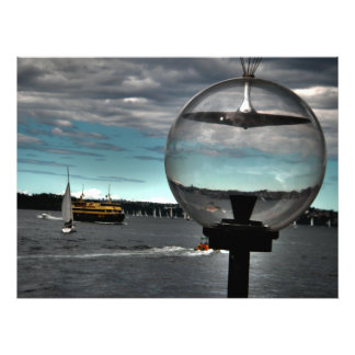 Globe Vision Photo Print