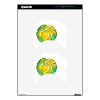 Globe with planet earth isolated on white xbox 360 controller decal