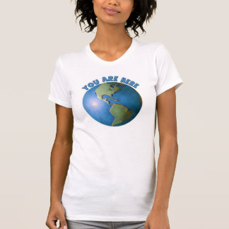 Globe. You Are Here t-shirt