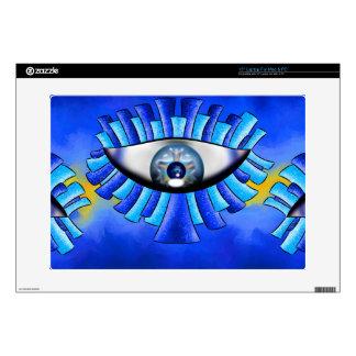 """Globellinossa V1 - triple eyes 15"""" Laptop Decal"""