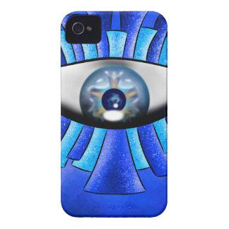 Globellinossa V1 - triple eyes Case-Mate iPhone 4 Case
