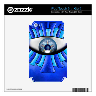 Globellinossa V1 - triple eyes Decals For iPod Touch 4G