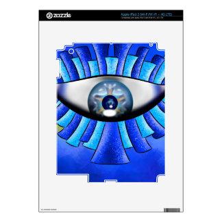 Globellinossa V1 - triple eyes iPad 3 Decal