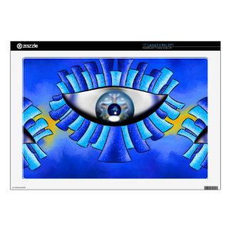 Globellinossa V1 - triple eyes Laptop Decals