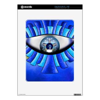 Globellinossa V1 - triple eyes Skin For iPad