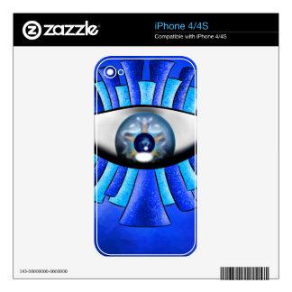 Globellinossa V1 - triple eyes Skins For The iPhone 4