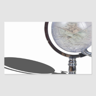 GlobeMoneyDispenser103013.png Rectangular Sticker