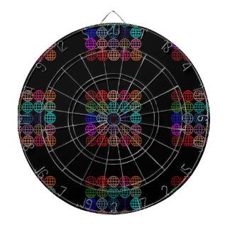 Globes Round Circles Dartboard