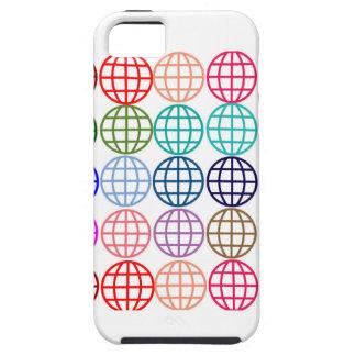 Globes Round Circles iPhone SE/5/5s Case