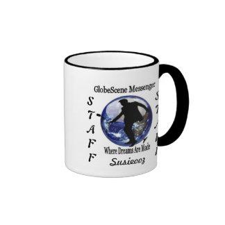 GlobeScene Messenger Staff Mug