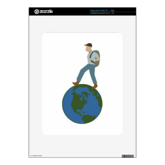 Globetrotter Plan Decal For The iPad