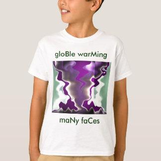 gloBle que calienta la advertencia de GLOble Playera