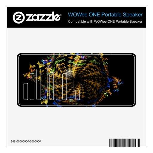 Globo abstracto del fractal altavoz WOWee skin