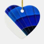 Globo azul ornato