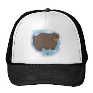 Globo caliente del oso gorras