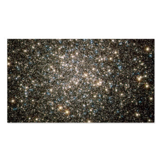 Globo celestial de la nieve de estrellas tarjetas de visita