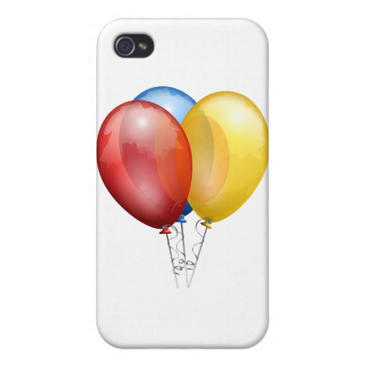 Globo colorido iPhone 4 carcasa