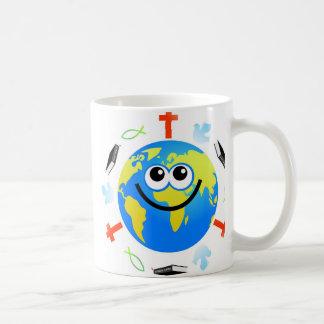 Globo cristiano taza clásica