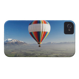 Globo de aire caliente, cerca de Methven, iPhone 4 Case-Mate Carcasa