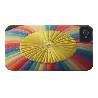 Globo de aire caliente, cerca de Methven, iPhone 4 Case-Mate Carcasas