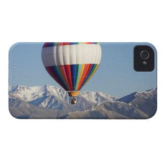 Globo de aire caliente, cerca de Methven, iPhone 4 Case-Mate Cobertura