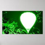 globo de alta fidelidad del aire caliente poster