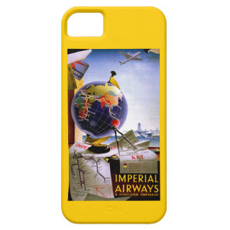 Globo de Imperial Airways Funda Para iPhone 5 Barely There