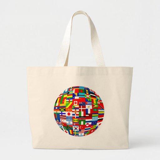 Globo de la bandera bolsa