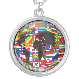 Globo de la bandera grimpola