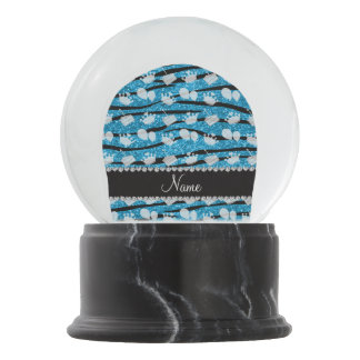 Globo de la torta de las rayas de la cebra del bola de nieve
