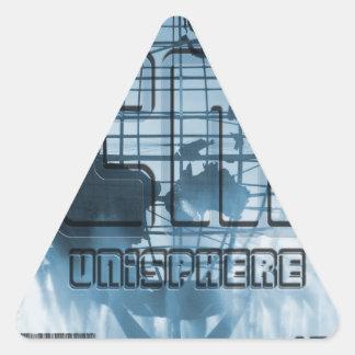 Globo de New York City Unisphere Colcomanias Trianguladas Personalizadas