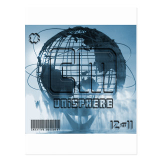 Globo de New York City Unisphere Postal